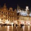 Brussels at Night, Belgium