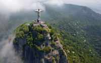Corcovado Mountain and Christ The Redeemer, Brazil