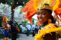 Junkanoo Parade Dancer, Bahamas