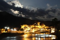 Punakha Dzong by Moonlight, Bhutan