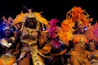 Traditional Junkanoo Dancers, Bahamas