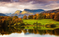 Lake District National Park Autumn, England