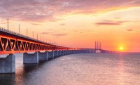 Oresund Bridge, Denmark