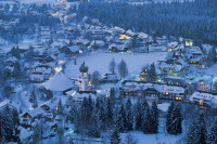 Hinterzarten in Winter, Germany