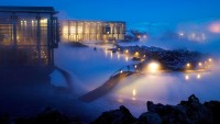 Blue Lagoon at Night, Iceland