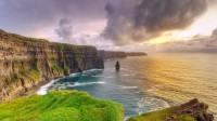Cliffs of Moher at sunrise, Ireland