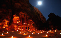 Petra at Night, Jordan