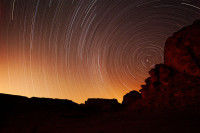 Wadi Rum Star Trails, Jordan
