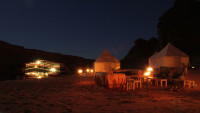 Wadi Rum at Night, Jordan