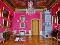Rundale Palace Intreior, Latvia