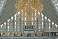 Faisal Mosque Interior, Pakistan