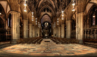 Nidaros Cathedral Interior, Norway