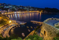 Ulcinj at Night, Montenegro