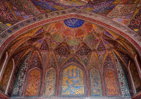 Wazir Khan Mosque Interior, Pakistan