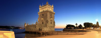 Belém Tower at Sunset, Portugal