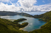 Lagoa do Fogo Lake, Portugal
