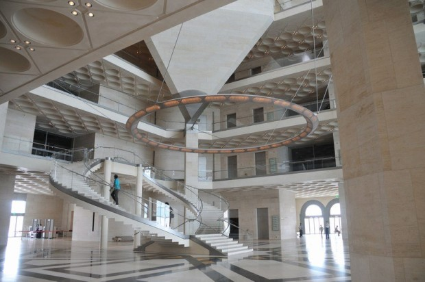 Museum of Islamic Art Interior, Qatar