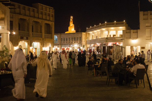 Souq Waqif at Night, Qatar