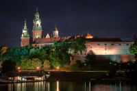 Wawel Castle at Night, Poland