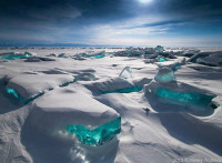 Lake Baikal in Winter, Russia