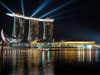 Marina Bay Sands at Night, Singapore