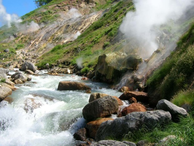 Valley of Geysers, Russia